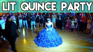 Quinceanera At Westmor Dance Studios DTLA DJ Louie Mixx Latino Blends