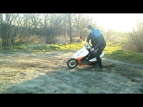 Кроссовый скутер своими руками 38