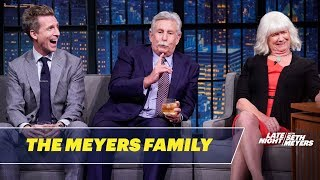 The Meyers Family Tells a Traumatic Story Involving Seth's Orthodontic Headgear