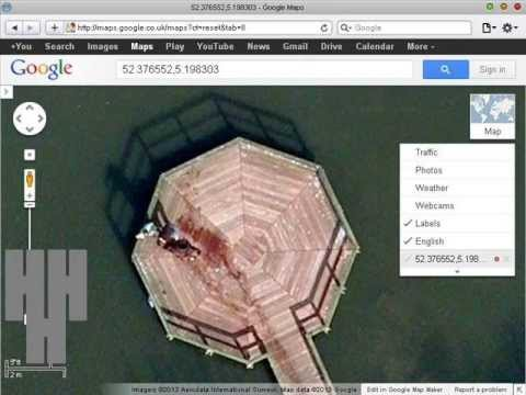 DEAD BODY ON GOOGLE EARTH, Guy Throwing Body In Lake Caught On Google Earth MUST SEE!