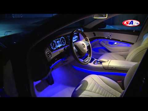 Mercedes-Benz S-Class -- Road Test by SAT TV Show 05.01.2014.