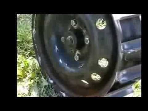 Грунтозацепы для мотоблока из жигулевских дисков своими руками