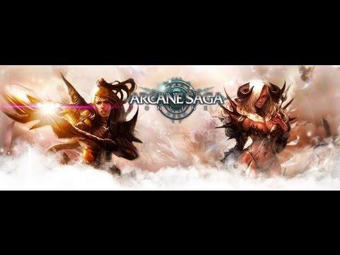 Arcane Saga Online - first look of gameplay. 2013 MMORPG. 3/10