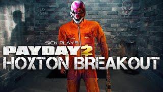 PAYDAY 2 Hoxton Breakout | Golden Guns | Clover Gameplay w/ SICK