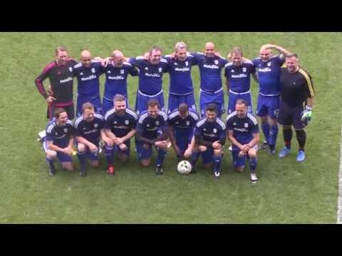 HIGHLIGHTS: CARDIFF CITY LEGENDS 7-3 KYLE'S GOAL