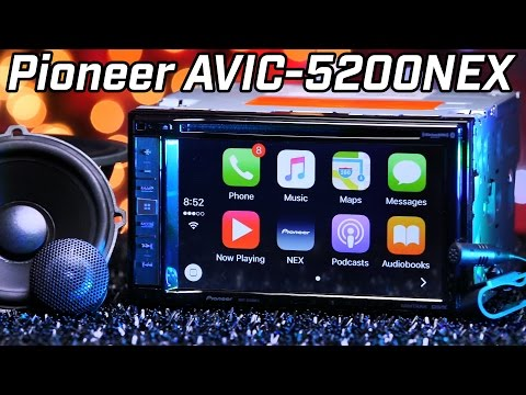 Pioneer AVIC-5200NEX - Apple Carplay - 2016  Review