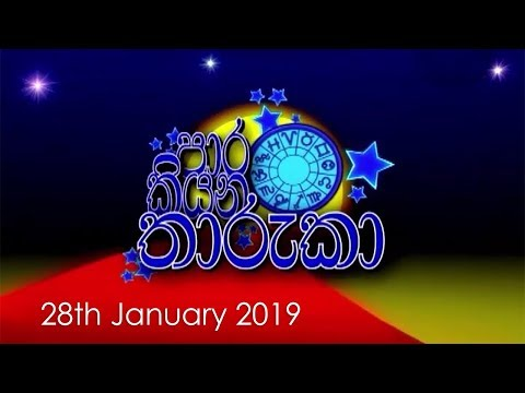Paara Kiyana Tharuka | 28th January 2019