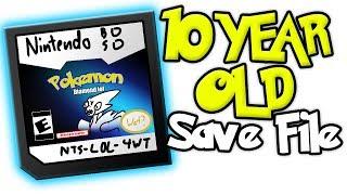 Exploring my 10 year old Pokemon Diamond Save file