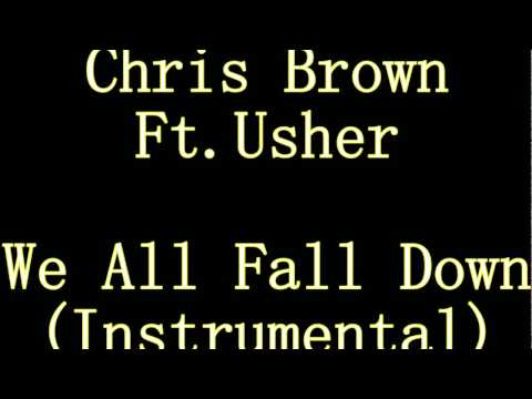 Chris Brown ft. Usher - We all fall down (original instrumental)