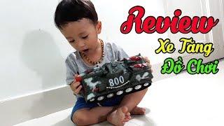 Review Xe Tăng Đồ Chơi cùng Baby Khánh Thiên - Đồ Chơi Trẻ Em - Sky Channel