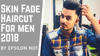 Men's Trending Hairstyle 2018 | Skin Fade Modern Quiff Haircut and Style
