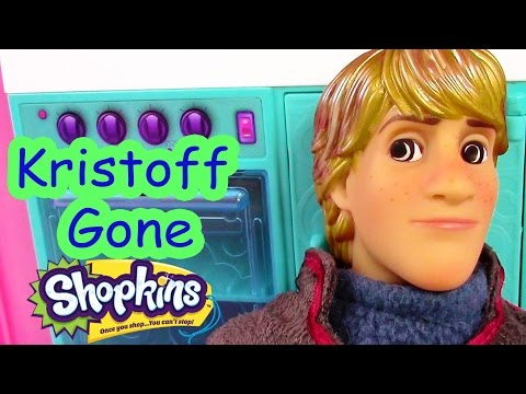 Disney Frozen Kristoff Gone Shopkins Crazy Princess Anna Barbie Doll House Drama