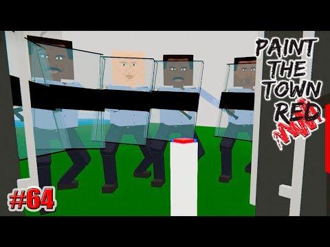 ПОБЕГ!!! 66 УБИЙСТВ!!! Paint the Town Red (МОДЫ) (64 серия)