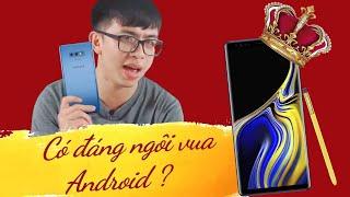 Đánh giá gì Galaxy Note 9 sau 1 tháng dùng : Có đáng ngôi vua Android ?