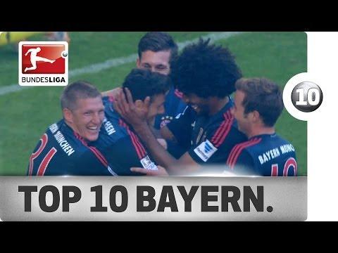 Top 10 Goals - Bayern Munich - 2013/14