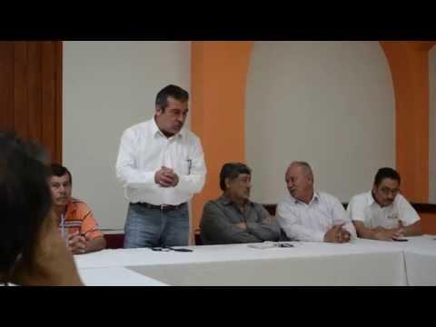 Gira de trabajo por las regiones de Lázaro Cárdenas y Apatzingan.