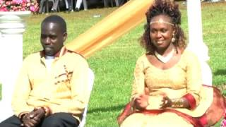 Wedding reception by The Cultural King  By Mwalimu Kendagor