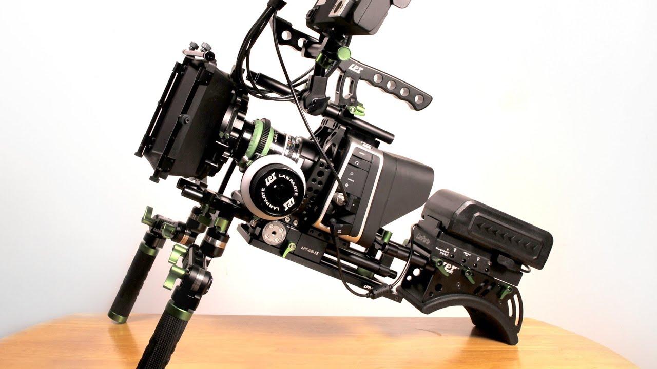 Lanparte Rig For Blackmagic 4k Amp Cinema Cameras Youtube