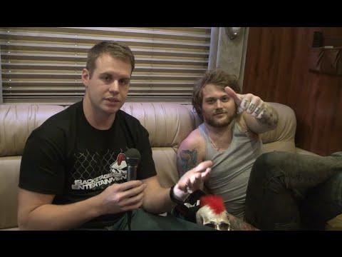 Asking Alexandria Interview #5 - Backstage Entertainment video
