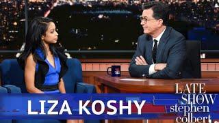 Liza Koshy Gets Breakup Advice From Stephen Colbert