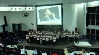 Noite de Gratidão desperta Debora irmãs da pib primeira igreja batista de cuiaba MT 24/11/ 2012