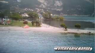 Flying above Lake Garda - Torbole 2012