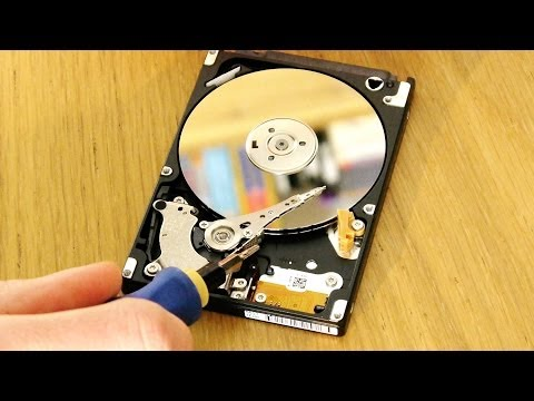 How to recover data from a hard drive (stuck heads: buzzing. clicking. etc)