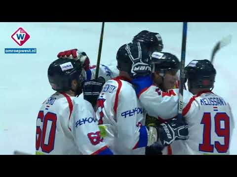 Samenvatting bekerfinale HIJS Hokij - Unis Flyers
