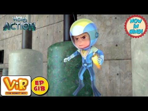 Vir: The Robot Boy | The Electrical Transformer | As Seen On HungamaTV | WowKidz Action