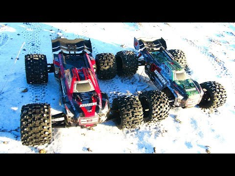 RC ADVENTURES - UNBOX & BEATiNG 2 100kph ARRMA KRATONS - 6S BLX 1/8th Scale 4WD MONSTER TRUCKS!