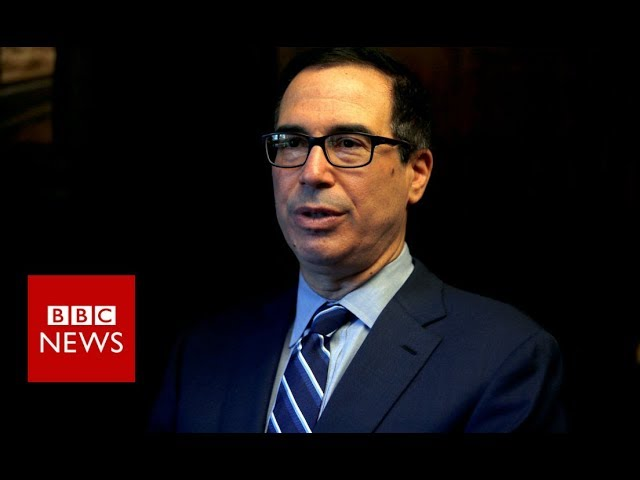 News conference: US Sanctions on Iran - BBC News