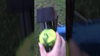 DIY pitching machine homemade (softball) how to