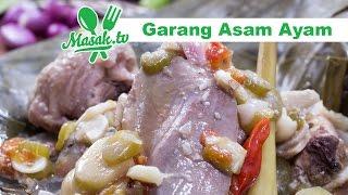 Garang Asam Ayam | Resep #329