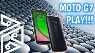 O caçula CRESCEU!!! 😱 -Unboxing e futuro sorteio do Motorola MOTO G7 PLAY