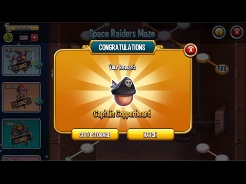 Monster Legends - Space Raiders Maze islands - How to unlock all