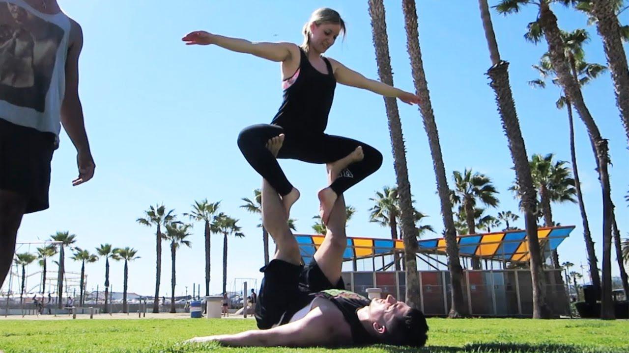 Beach Yoga Pose Yoga on The Beach