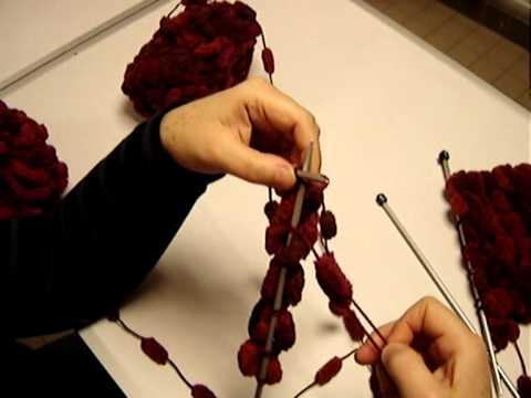 Tricoter la laine pompon youtube - Tricoter une echarpe en laine ...