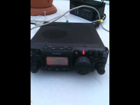 FT 817 QRP Portable Setup