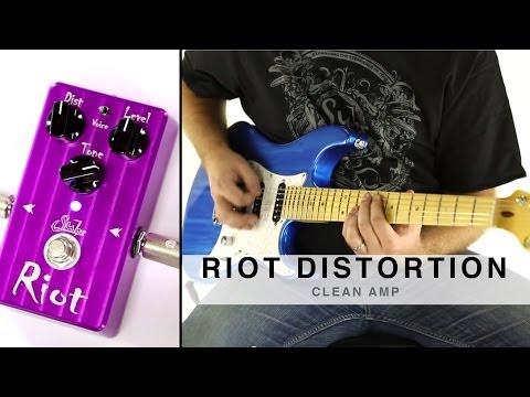 SUHR RIOT DISTORTION™ - CLEAN AMP