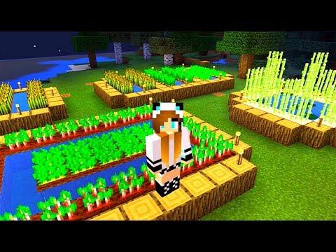 Видео Обзор игры #Minecraft Cтроительство #Майнкрафт Фермы с #лучшаяподружка Света Майнкрафт онлайн