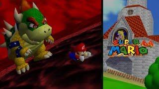 Super Mario 64 [P9] Dire Dire Docks + Bowser Fight