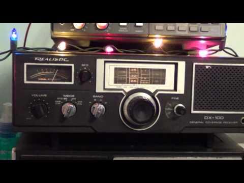China Radio International 6020 Khz on Realistic DX 100 shortwave radio