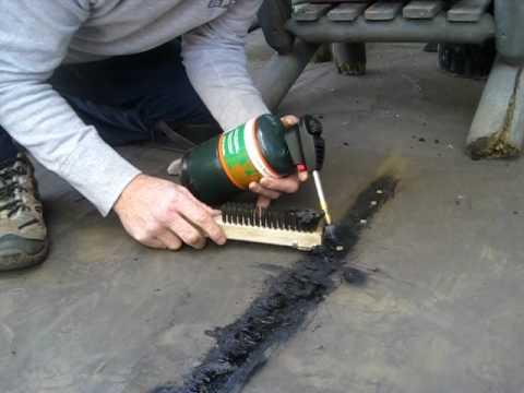 Flat Roof Repair Youtube