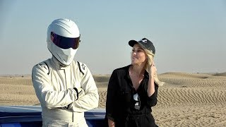 I'm on Top Gear with The Stig