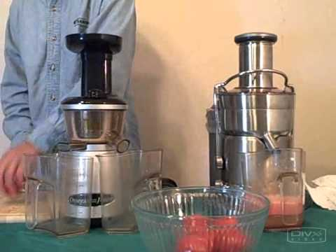 Slow Juicer Vs Juicer : Hurom Slow Juicer vs Omega vRT 350 Juicer - What s The Difference? How To Save Money And Do It ...