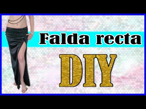 DIY- Falda tubo (recta) para danza oriental