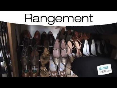 id es pour bien ranger ses chaussures youtube. Black Bedroom Furniture Sets. Home Design Ideas
