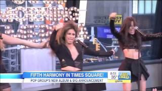 Fifth Harmony - Sledgehammer GMA Live