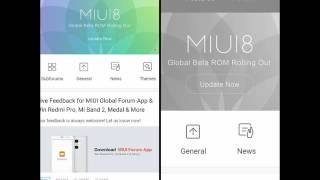 MIUI Forum App demo [Download link Below]