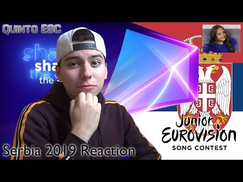 Darija Vračević - Raise Your Voice Reaction - Junior Eurovision 2019 (Serbia) - Quinto ESC